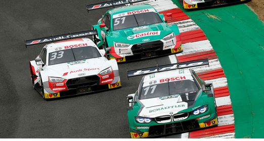 Wittmann leads home title favourites in tense Brands Hatch thriller