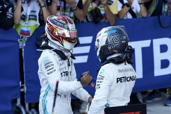 Mercedes-AMG Petronas Motorsport claim a 1-2 victory at Sochi