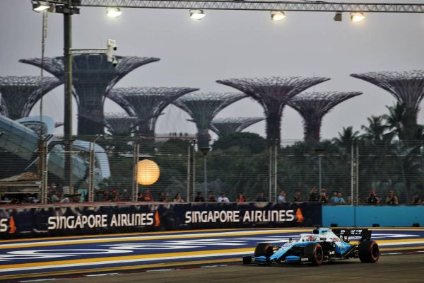 ROKiT Williams F1 Singapore Grand-Prix qualifying