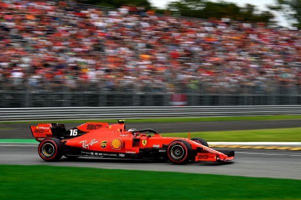 Scuderia Ferrari F1 Italian Grand-Prix -Pole for Charles