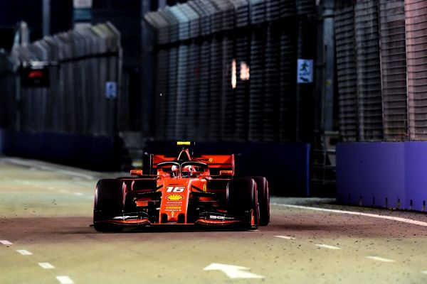 Scuderia Ferrari F1 Singapore Grand-Prix qualifying, Pole for Leclerc