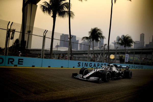 Mercedes AMG Petronas F1 Singapore Grand-Prix practices