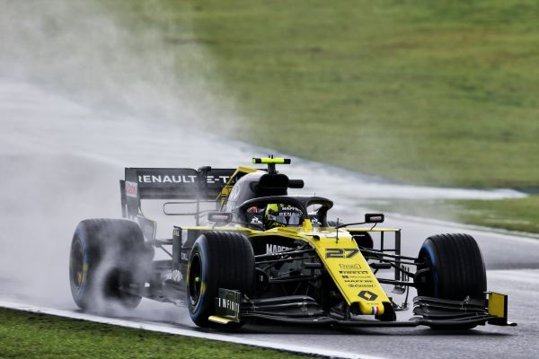 Renault F1 Brazilian Grand-Prix Practices