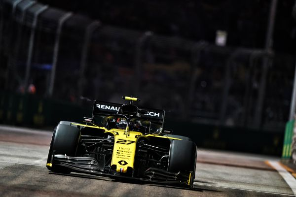 Renault F1 Singapore Grand-Prix practices