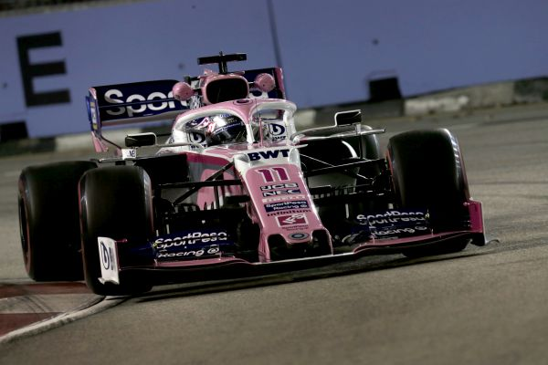 Sportpesa RacingPoint F1 Singapore Grand-Prix practices