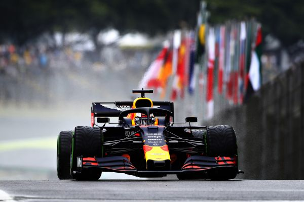 Aston Martin Red Bull Racing F1 Brazilian Grand-Prix Practices