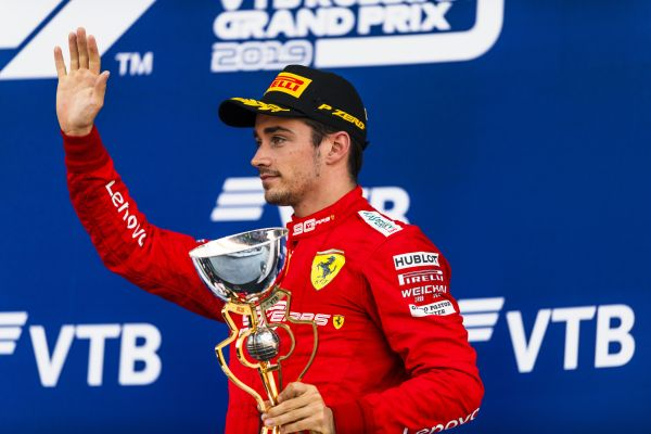 Charles Leclerc third in game of Russian Roulette