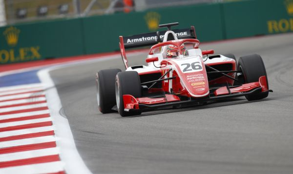 Armstrong unbeatable in Sochi FIA F3 Free Practice