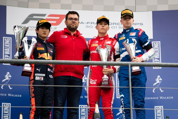 Armstrong wins F3 Race 2 in Spa-Francorchamps