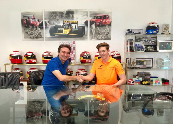 David Schumacher with Campos Racing in F3 for Sochi finale