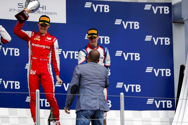 Sochi FIA Formula 3 race 1 classification - Armstrong takes victory