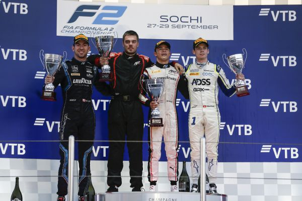 F2 Feature Race Sochi classification - De Vries takes victory