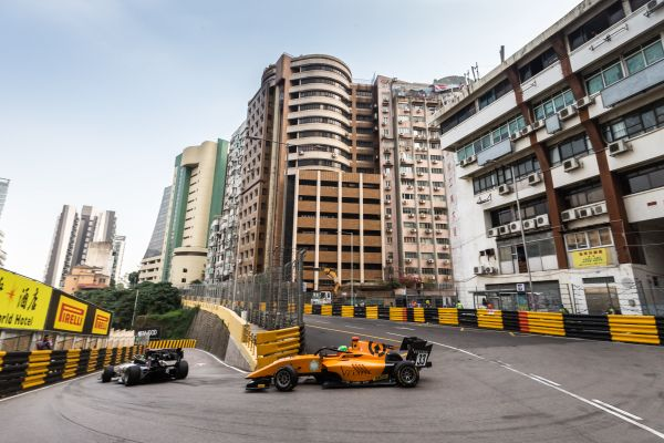 Campos Racing shows pace with top-ten performance in FIA F3 races in Macau