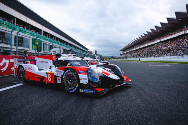 6 Hours of Fuji Race overall classification - 1-2 victory for Toyota