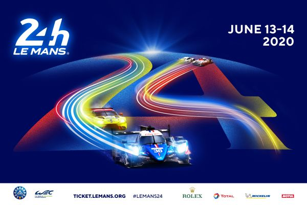 The poster for the 2020 24 Hours of Le Mans is out!