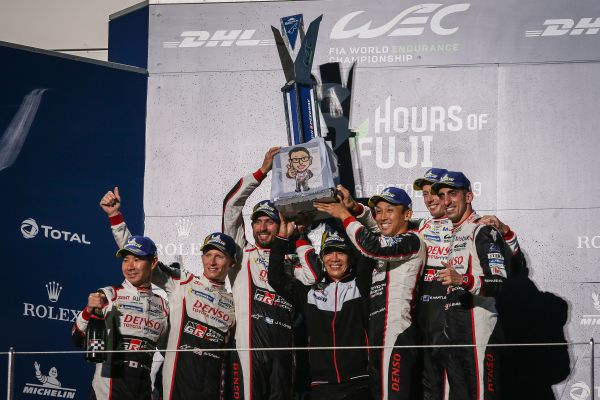 Toyota driver quotes after 6 Hours of Fuji victory