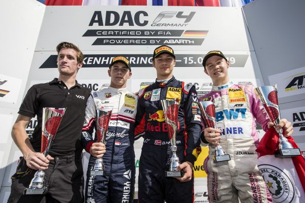 Hauger celebrates third win of the 2019 ADAC Formula 4 season