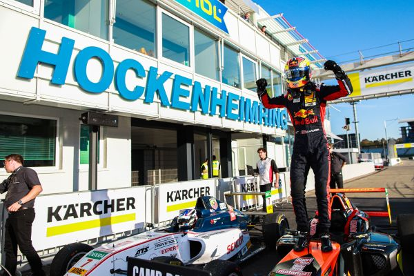 Hauger makes history with ADAC Formula 4 hat-trick at Hockenheimring