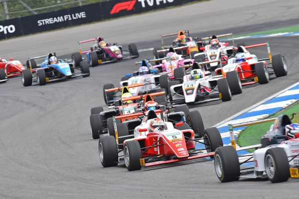 Match point for Théo Pourchaire at Hockenheim