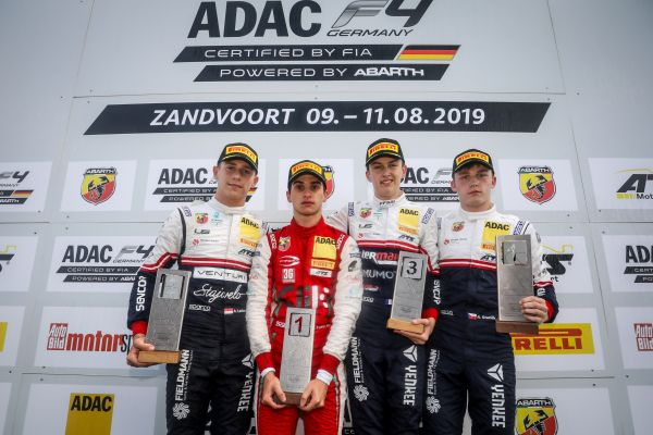 Famularo in maiden ADAC Formula 4 victory - From 15th to 1st in Zandvoort