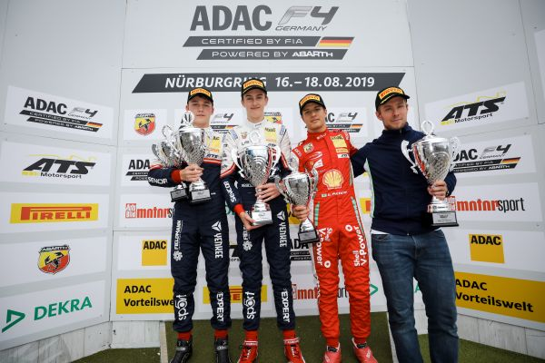 Front-runner Théo Pourchaire wins Race 1 at Nürburgring