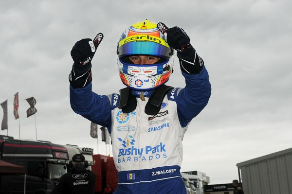 Zane Maloney secures British F4 Rookie Cup title