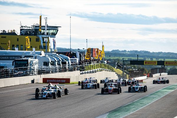 Sachsenring ADAC Formula 4 race 3 amended classification - Hauger did it