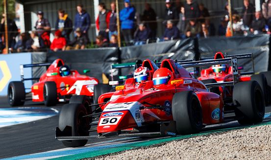 Plenty of positives for Arden on testing weekend in F4 at Knockhill
