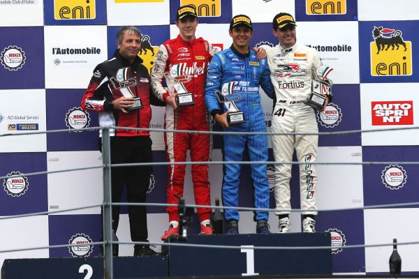 DR Formula by RP Motorsport takes victory and double podium in race 1 at Monza