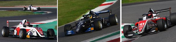 DR Formula by RP Motorsport's drivers top official test at Monza