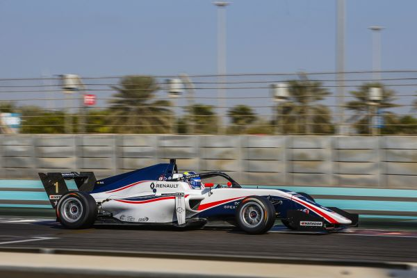 Formula Renault Rookie Test Abu Dhabi classification both session