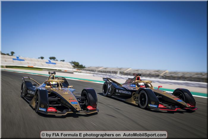 DS TECHEETAH completes a successful testing week in Valencia
