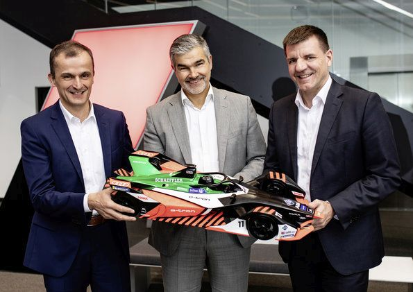 Audi and Schaeffler: moving forward together