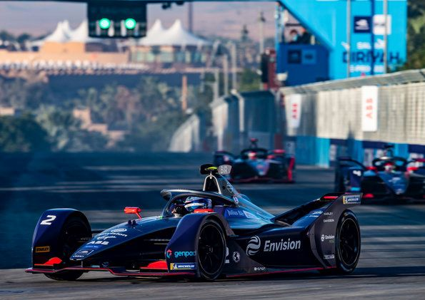 Audi customer team Envision Virgin wins Formula E season opener