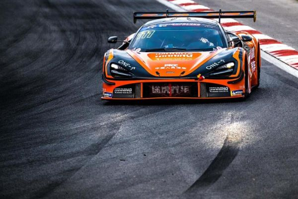 McLaren 720S GT3 takes victory on China GT Championship debut