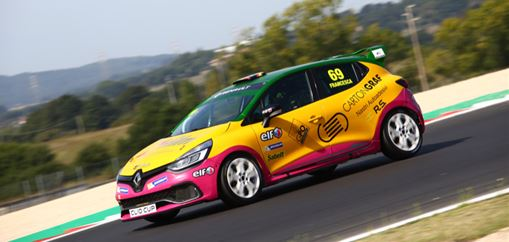 Great satisfaction for Oregon Team in Vallelunga's Clio Cup Italia round