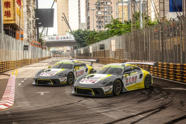 Porsche tackles the world's toughest road race in Macau with top teams
