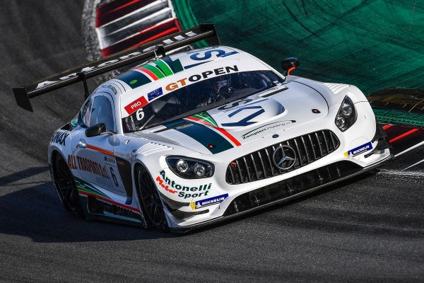 Riccardo Agostini ends GT Open weekend at Barcelona claiming second and sixth position