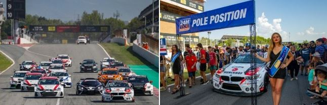 TOPCAR sport leads TCE after four hours in Barcelona