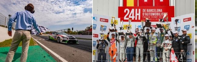 TOPCAR Sport takes win, Autorama takes title at the Hankook 24H BARCELONA