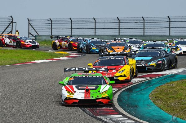 Shanghai victory for Chen and van der Drift as Lamborghini Super Trofeo Asia title battle heats up