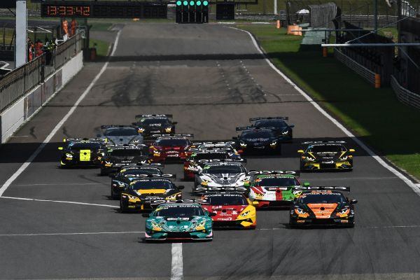 Jousse and Nato storm to Lamborghini Super Trofeo Asia victory on championship debut
