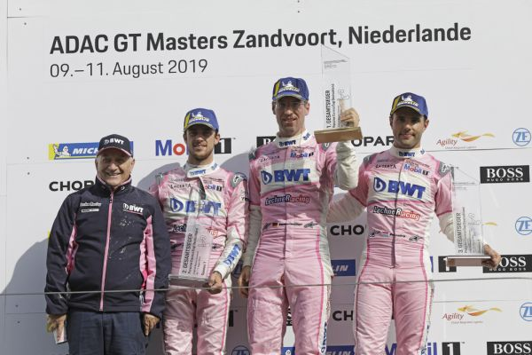 Third win of the season: Michael Ammermüller celebrates at Zandvoort