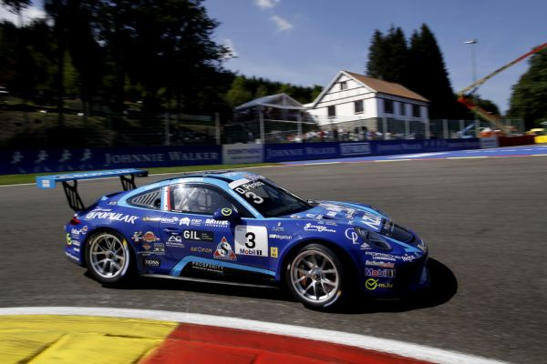 Premiere for Dylan Pereira – Supercup pole at Spa-Francorchamps