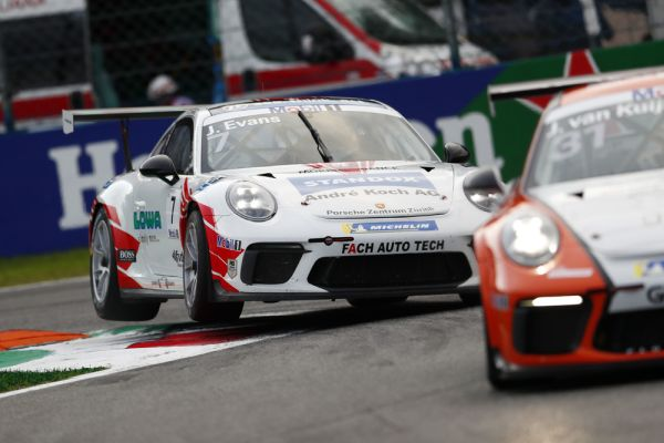 Evans fastest at Monza – first Supercup pole for the Porsche Junior