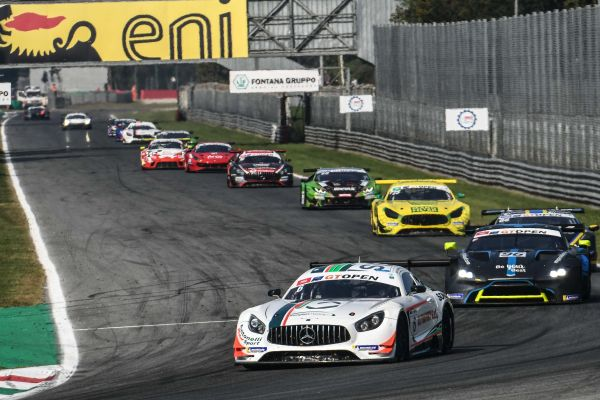 Riccardo Agostini completes another billiant weekend in the International GT Open