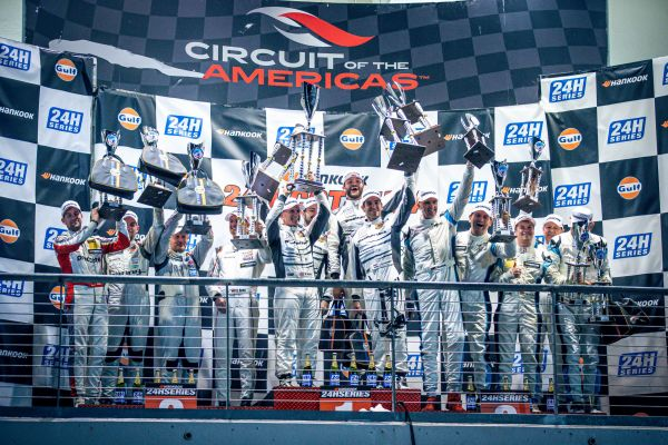 BLACK FALCON takes second overall victory at 24h race CoTA/USA
