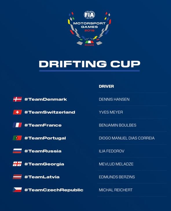 Drifting Cup to bring spectacular action under the floodlights at FIA Motorsport Games