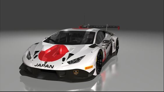 FFF Racing Team by ACM reveals Team Japan livery for the FIA Motorsport Games