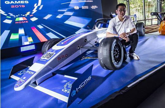 KCMG's Paul IP to represent Hong Kong in FIA Motorsport Games GT Cup